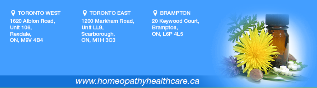 Homeopathy Health Care Toronto.