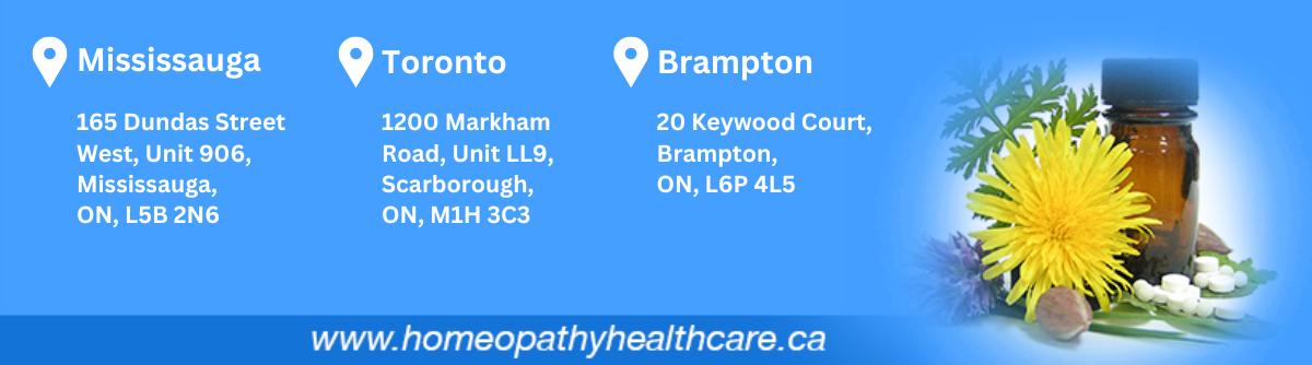 Homeopathy Health Care Toronto.